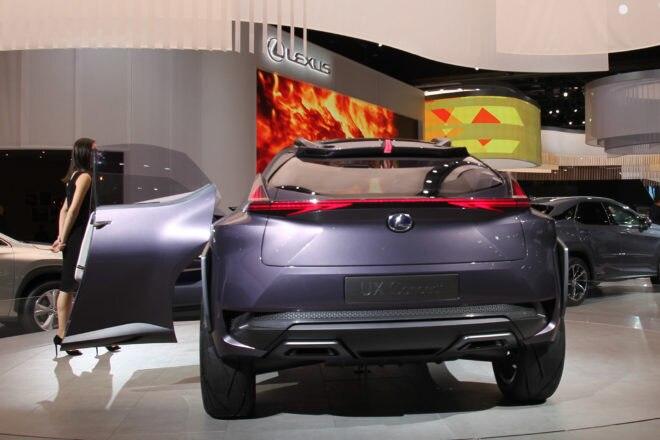 Lexus UX Concept Detroit Auto Show Rear
