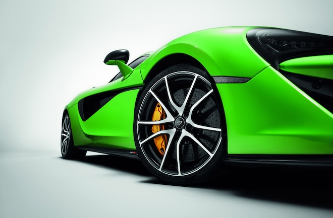 McLaren Sports Series 570S Detail