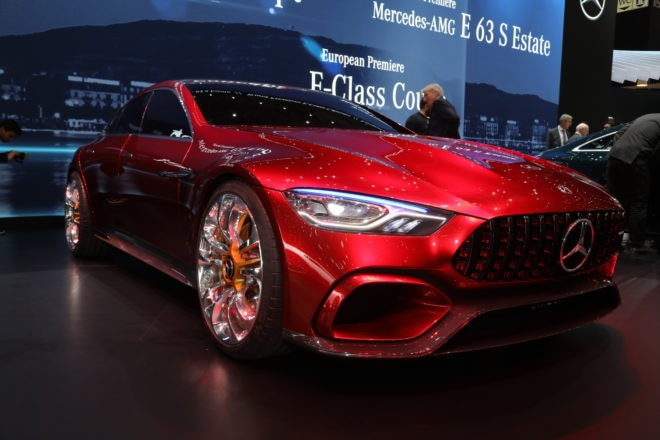 Mercedes AMG GT Concept front three quarter 04