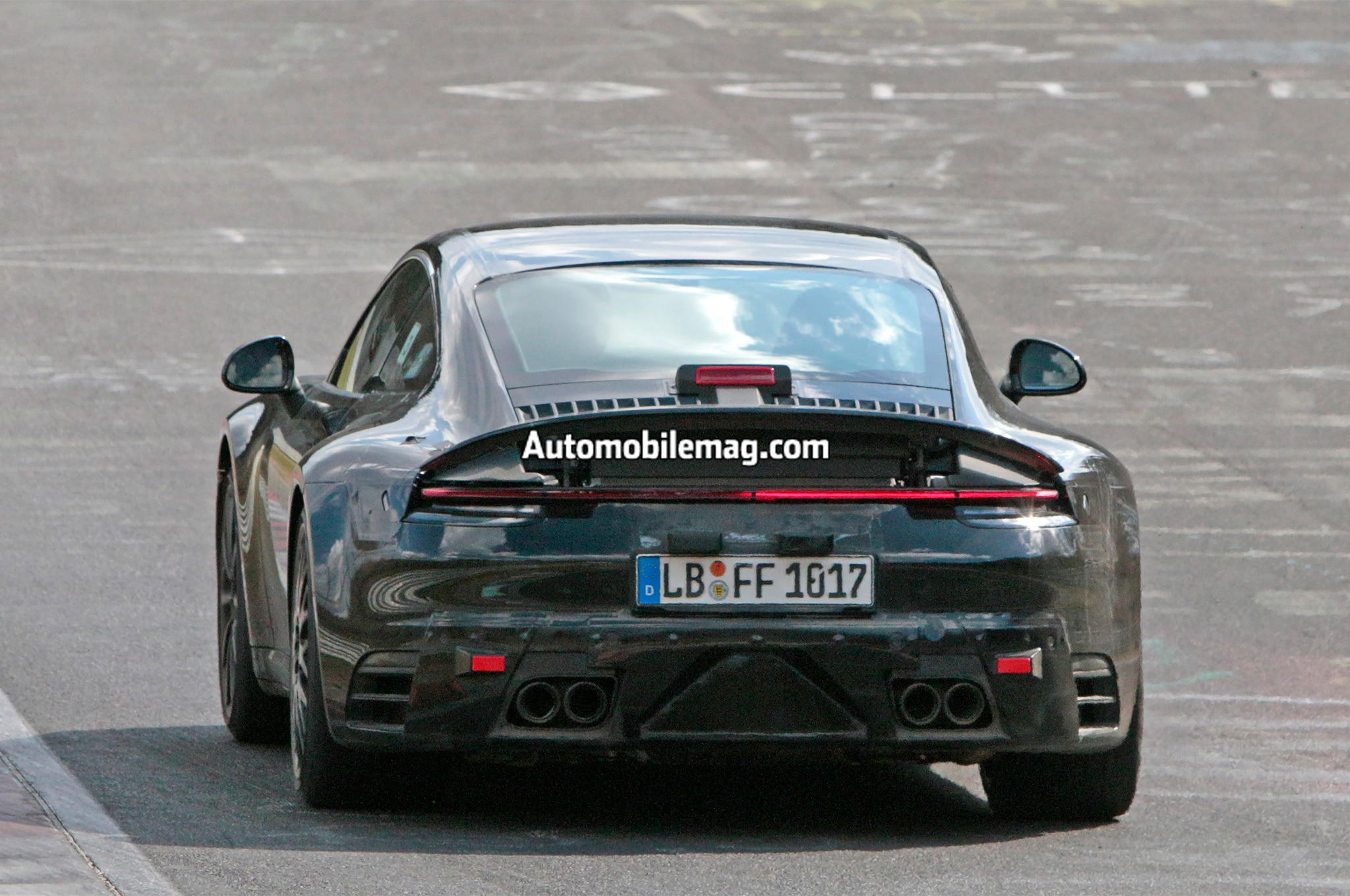 2019 Porsche 911 Spied At The Nurburgring Automobile