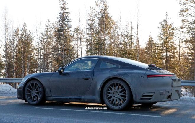 Porsche 992 Spoiler down 7 1