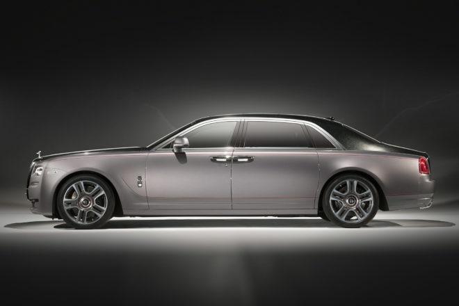Rolls Royce Ghost Extended Wheelbase Side