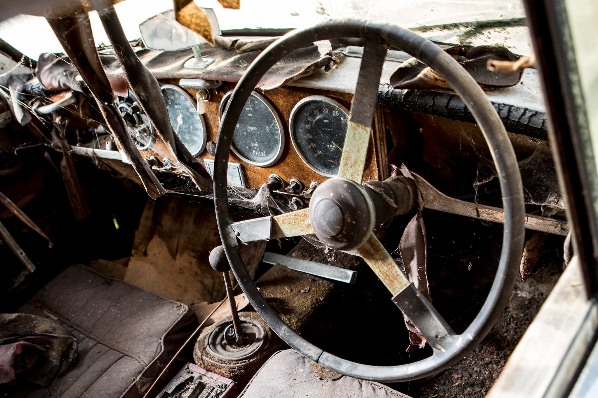 1957 Aston Martin DB2 MkII Bonhams Interior