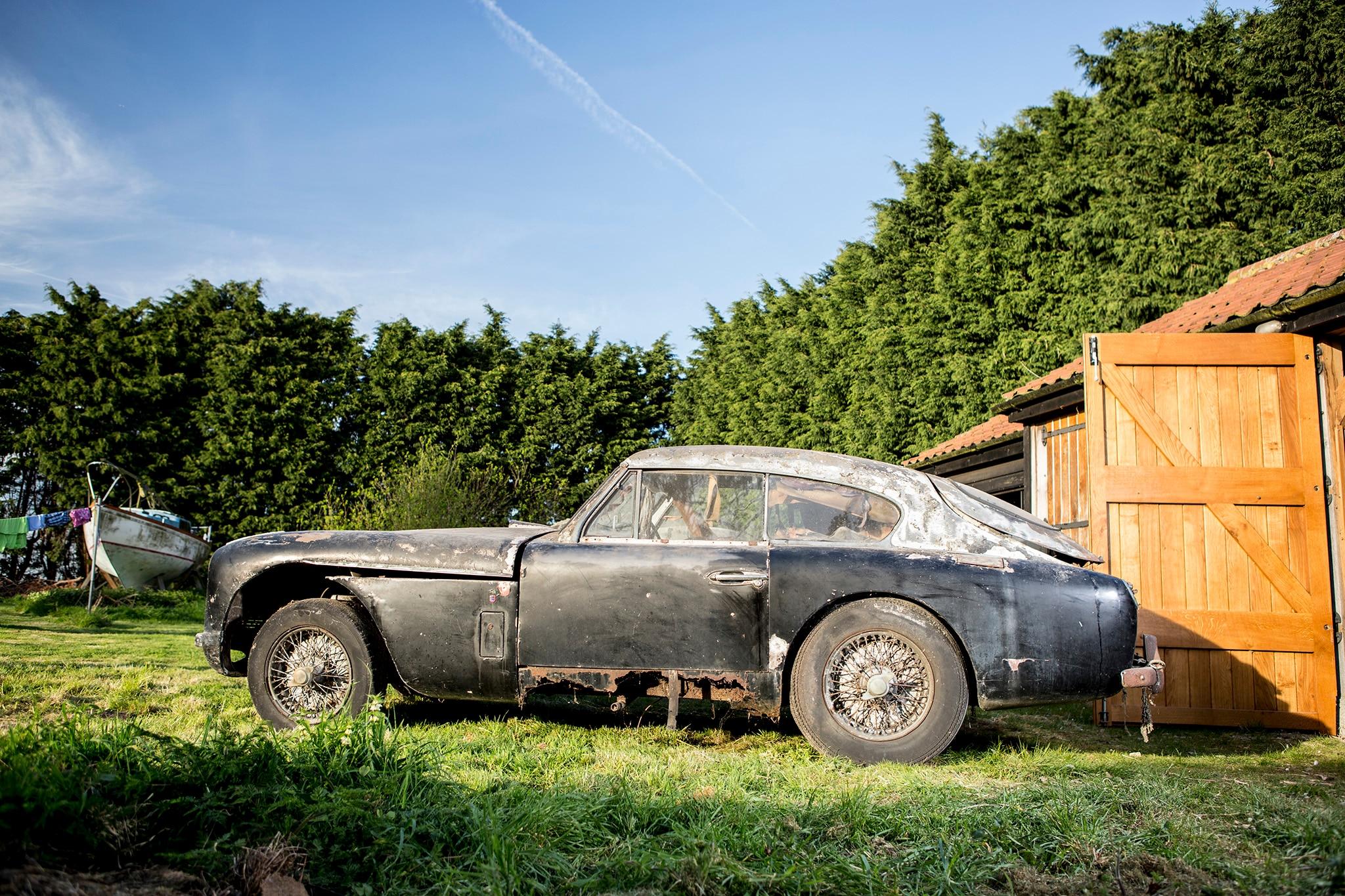 1957 Aston Martin DB2 MkII Bonhams Side