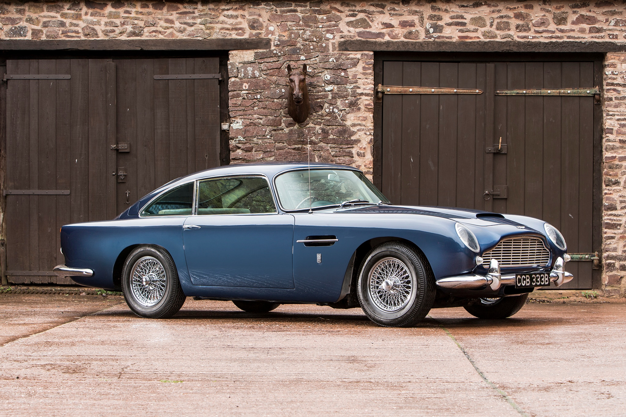 1964 Aston Martin DB5 Bonhams Front Three Quarters