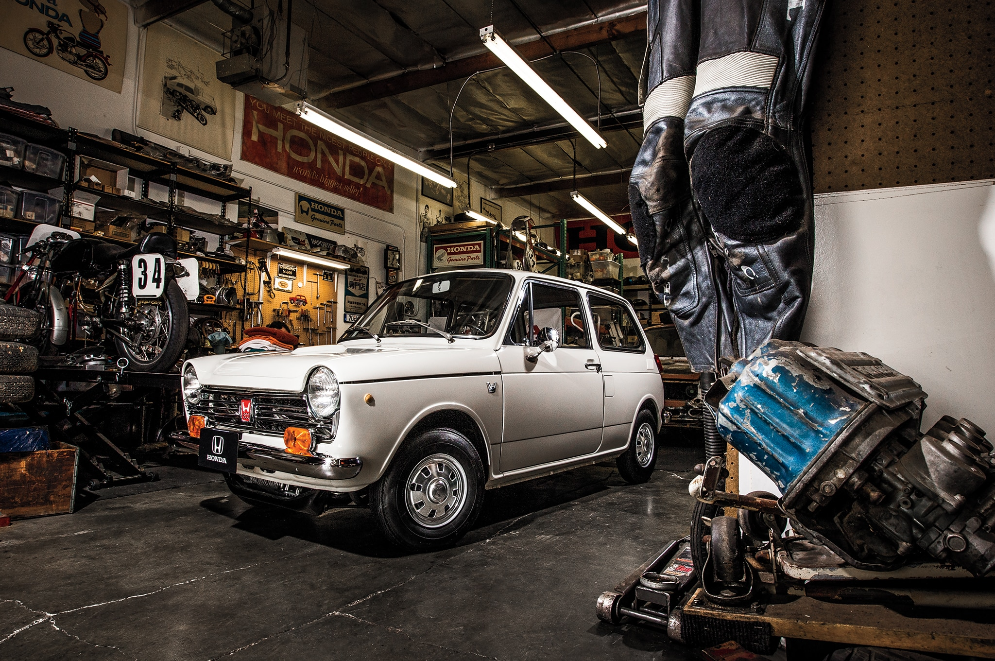 The Restoration of Serial One, the First Four-Wheeled Honda