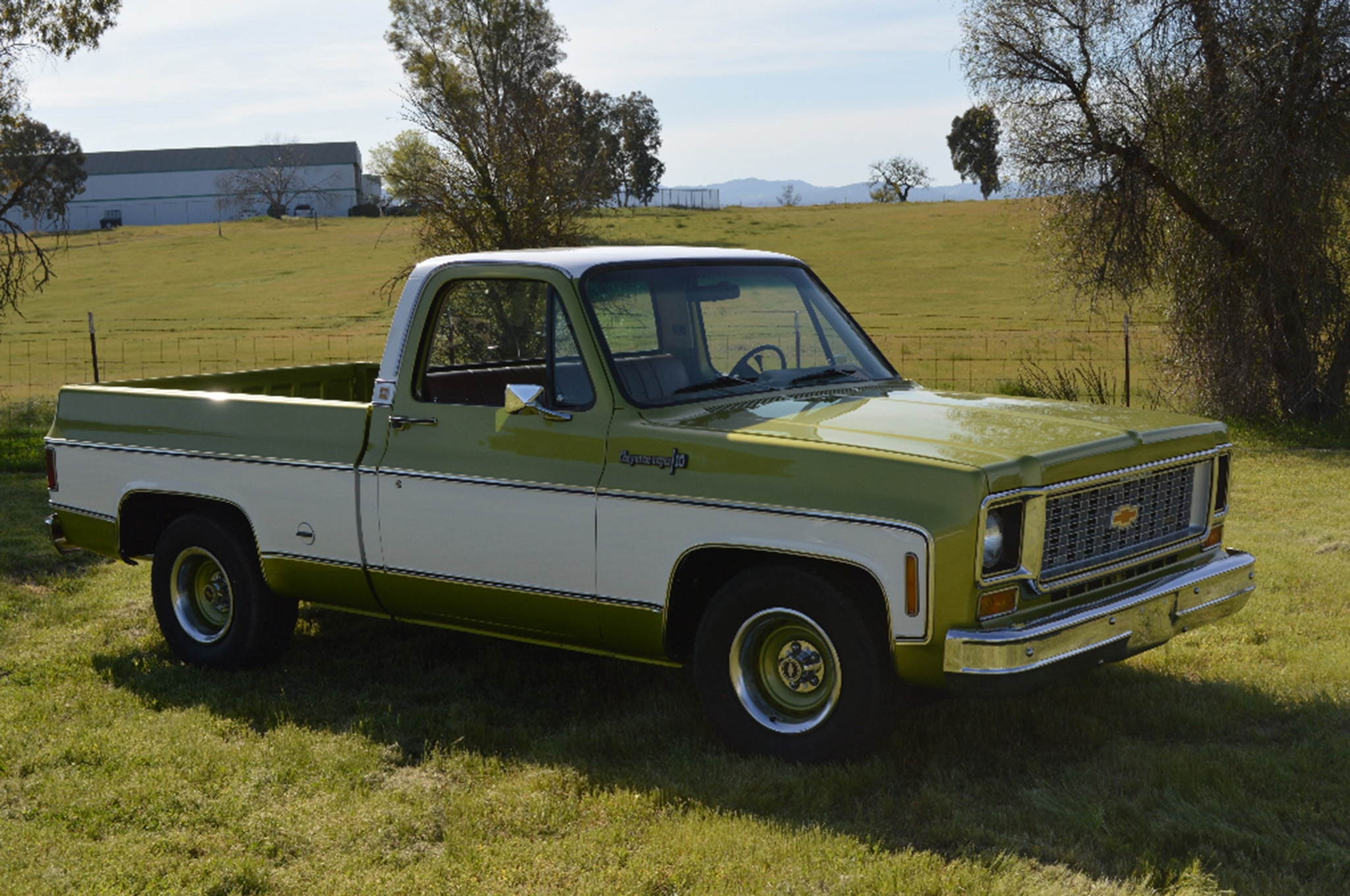 Just Listed: 1974 Chevrolet C10 Cheyenne Shortbed is a ...