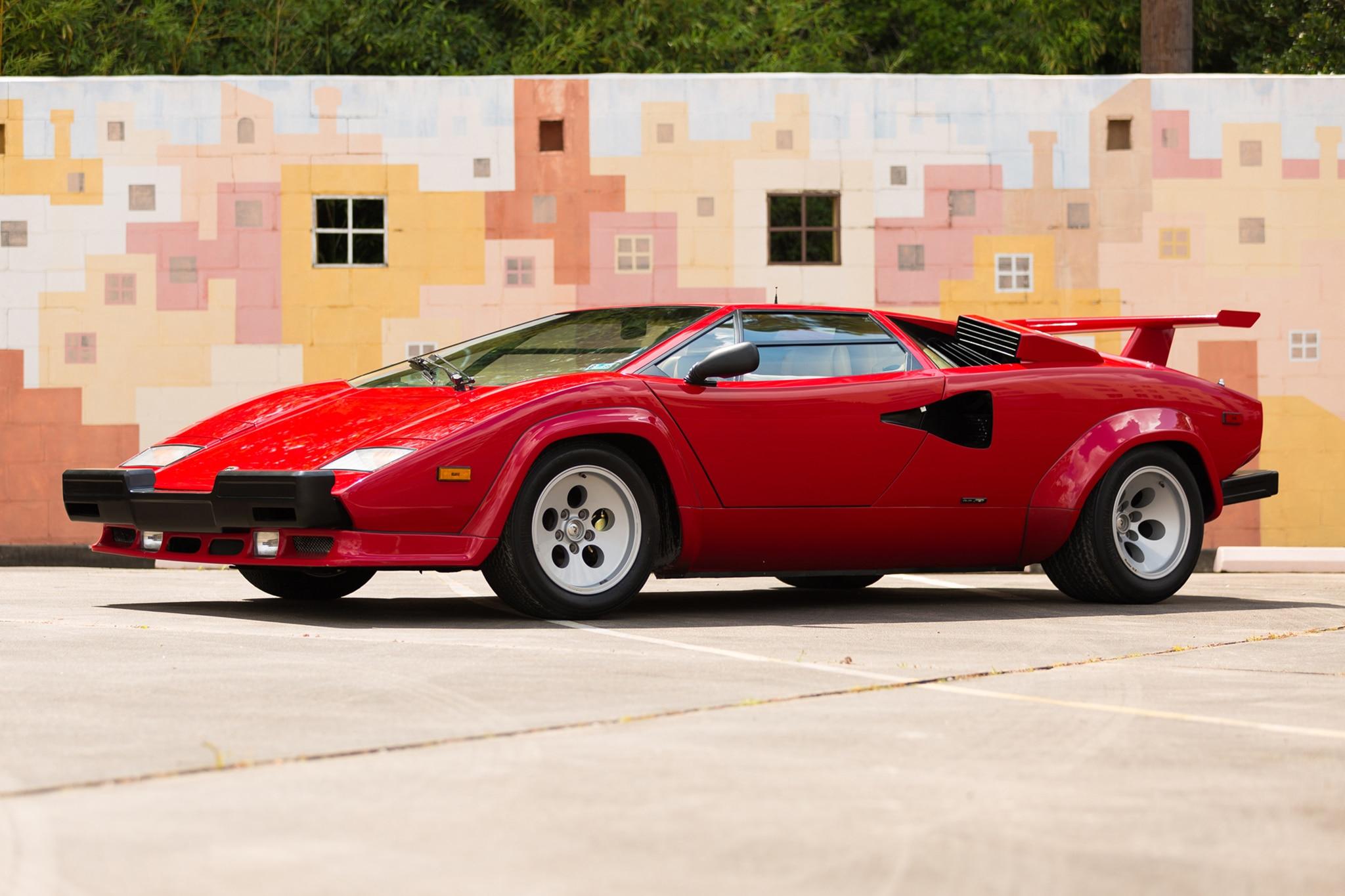 Just Listed 1987 Lamborghini Countach 5000 Qv Automobile Magazine