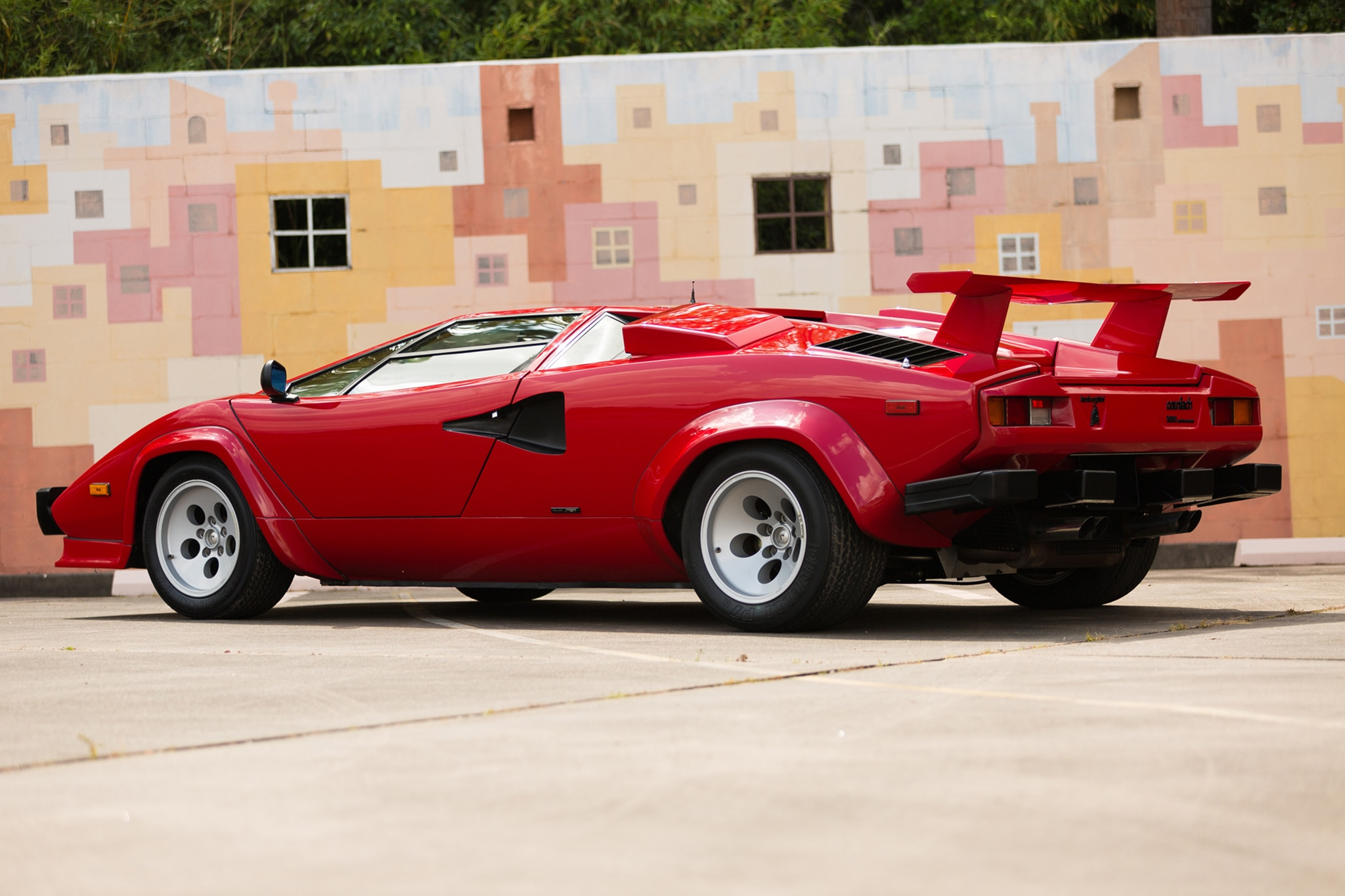 Just Listed 1987 Lamborghini Countach 5000 Qv Automobile Magazine