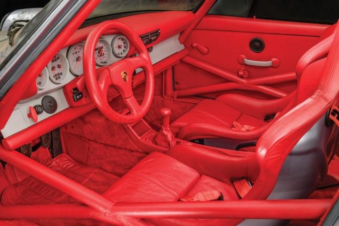 1993 Porsche 964 Carrera RSR RM Sothebys Interior