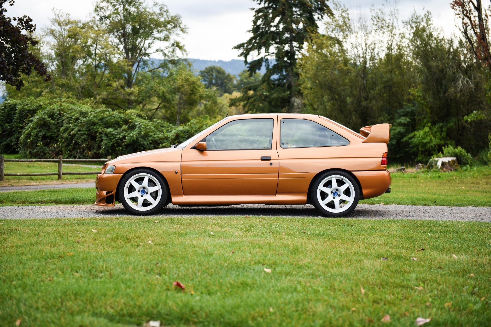 Just Listed Modified 1995 Ford Escort Rs Cosworth Automobile Magazine