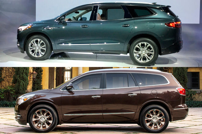 2016 2018 Buick Enclave Side