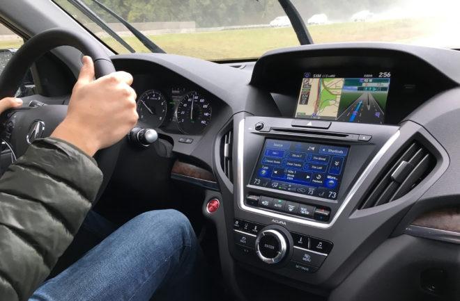2017 Acura MDX Sport Hybrid SH AWD Interior