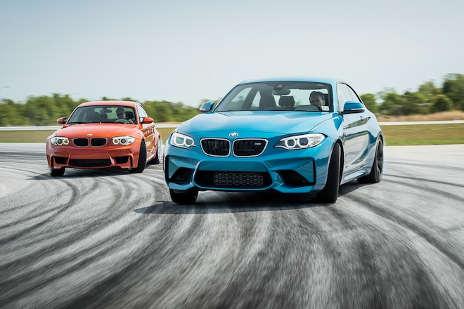2017 BMW M2 Vs 2011 BMW 1 Series M Coupe 10