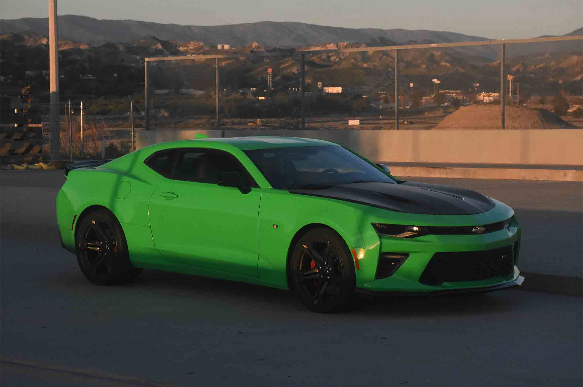 2017 Chevrolet Camaro SS 1LE One Week Review   Automobile Magazine