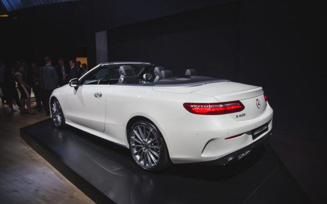 2017 NY Mercedes Benz E Class Cabriolet 5 1