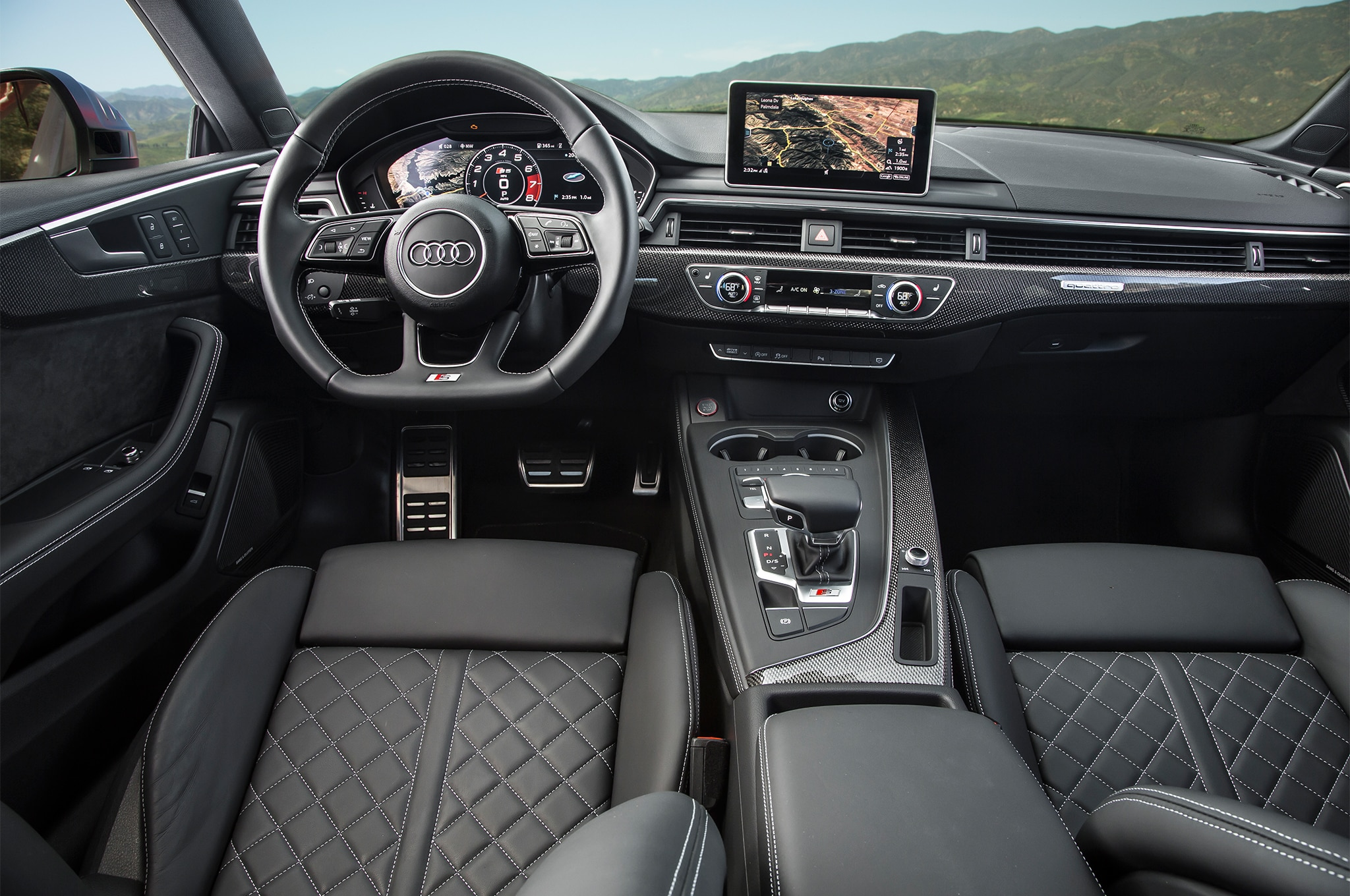 Audi S Coupe First Drive Review Automobile Magazine - Audi s5 2018