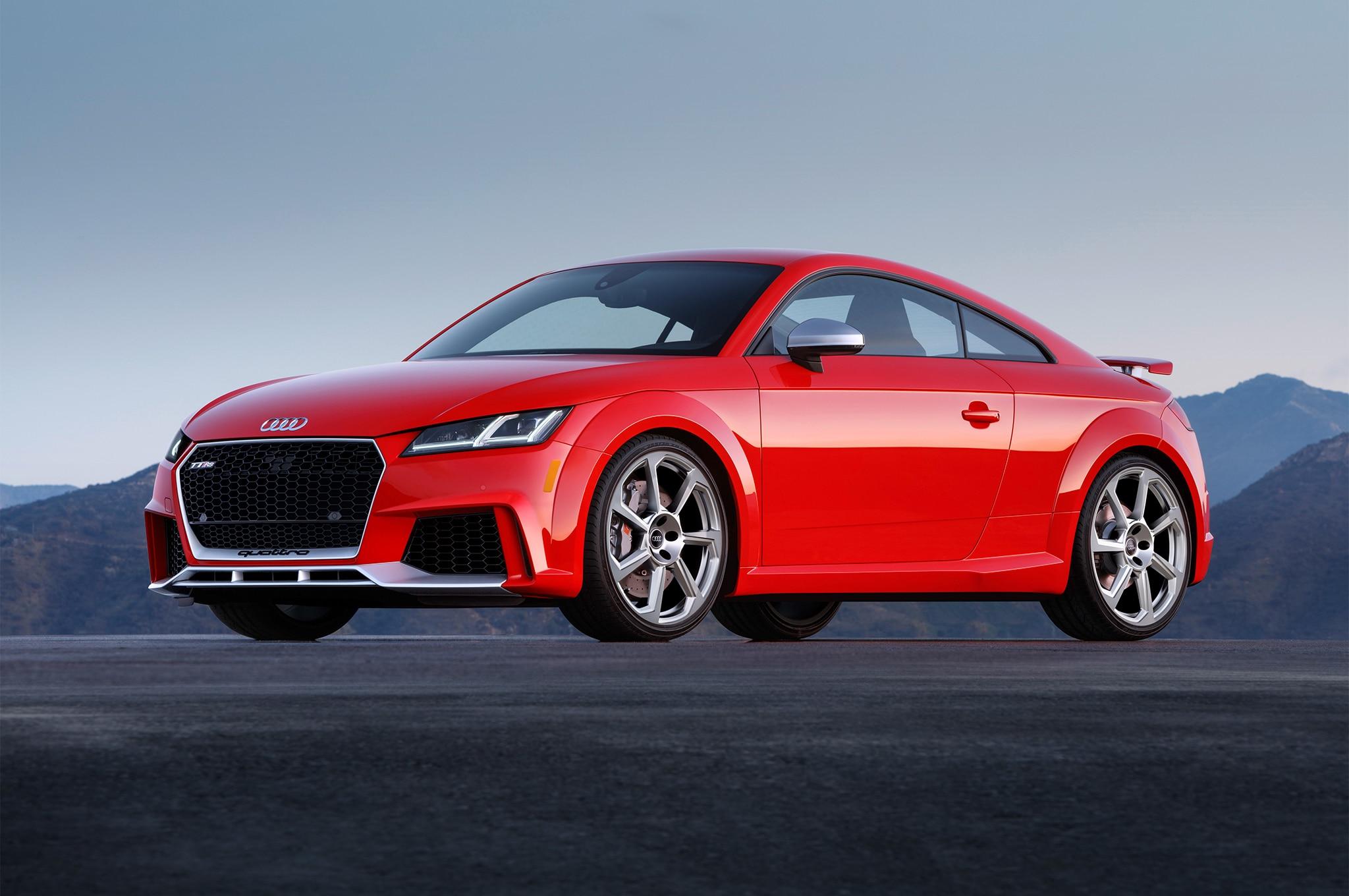 U.S.-Spec 2018 Audi TT RS Priced at $65,875 | Automobile ...
