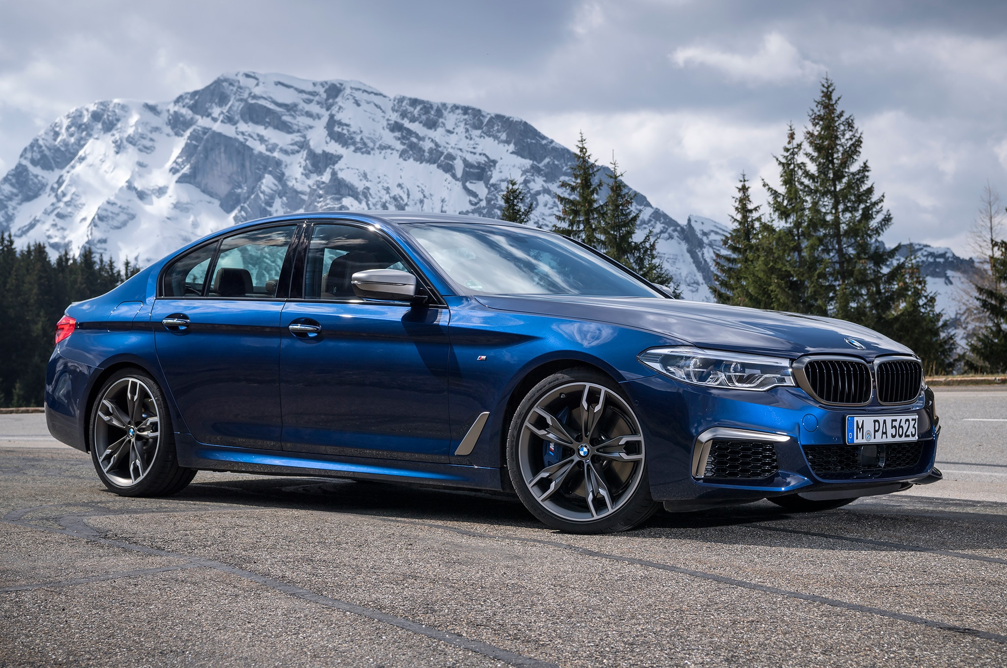 2018 Bmw M550i Xdrive Review >> 2018 BMW M550i xDrive First Drive Review | Automobile Magazine