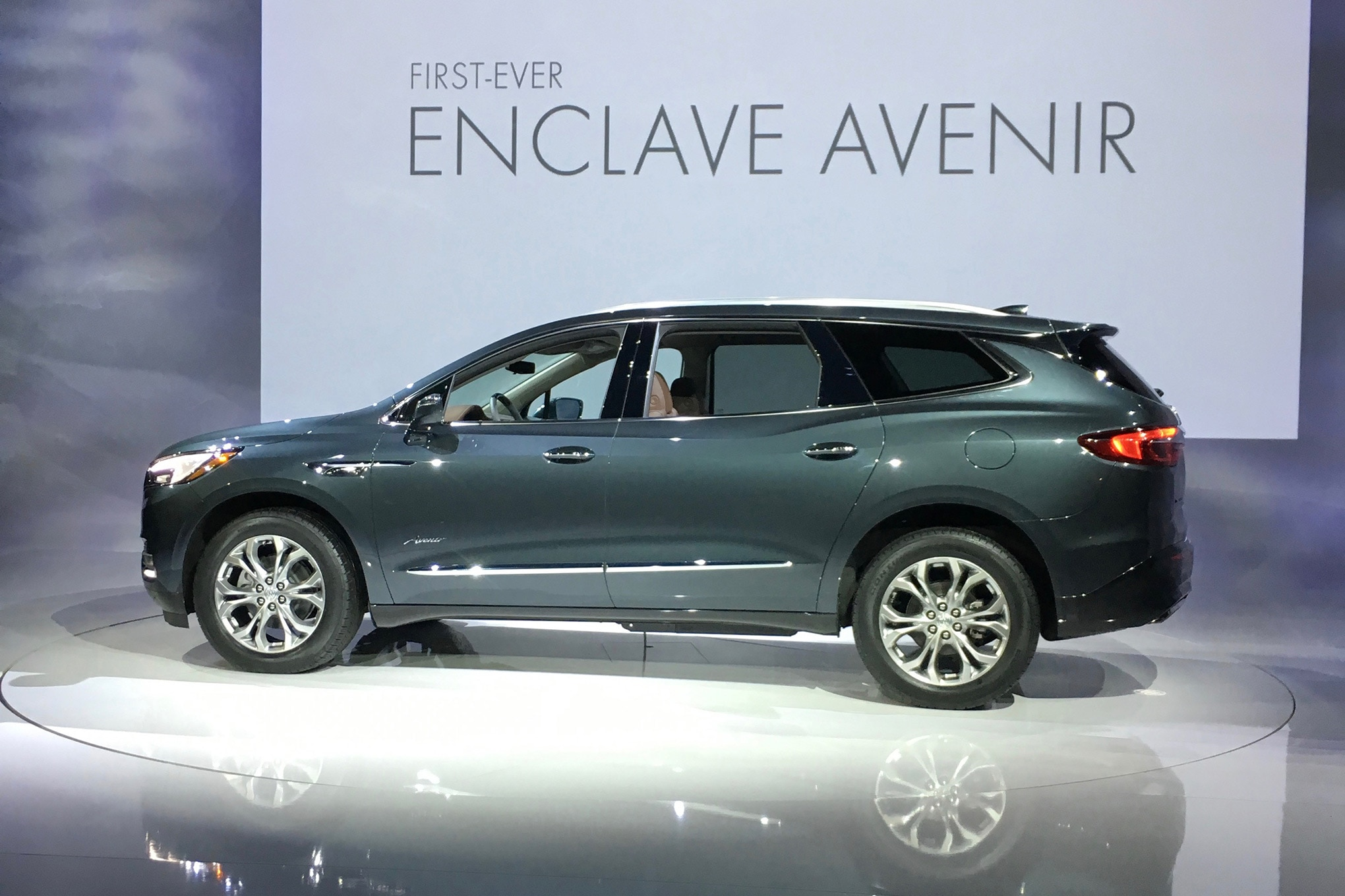 automobile view enclave buick price news magazine suv front driven