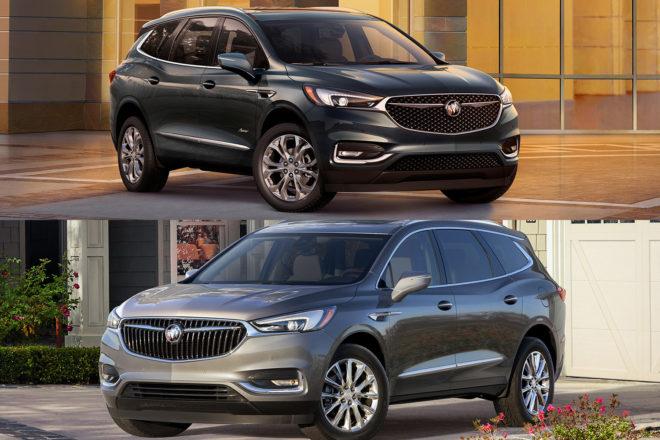 2018 Buick Enclave Avenir Exterior Comparison