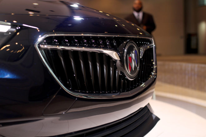 2018 Buick Regal grille