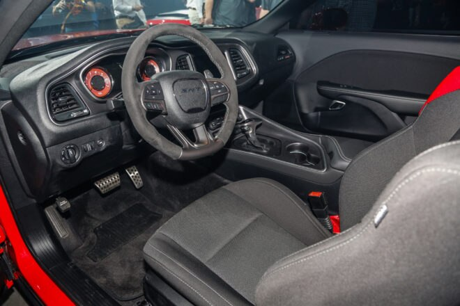 2018 Dodge Challenger SRT Demon interior view 1