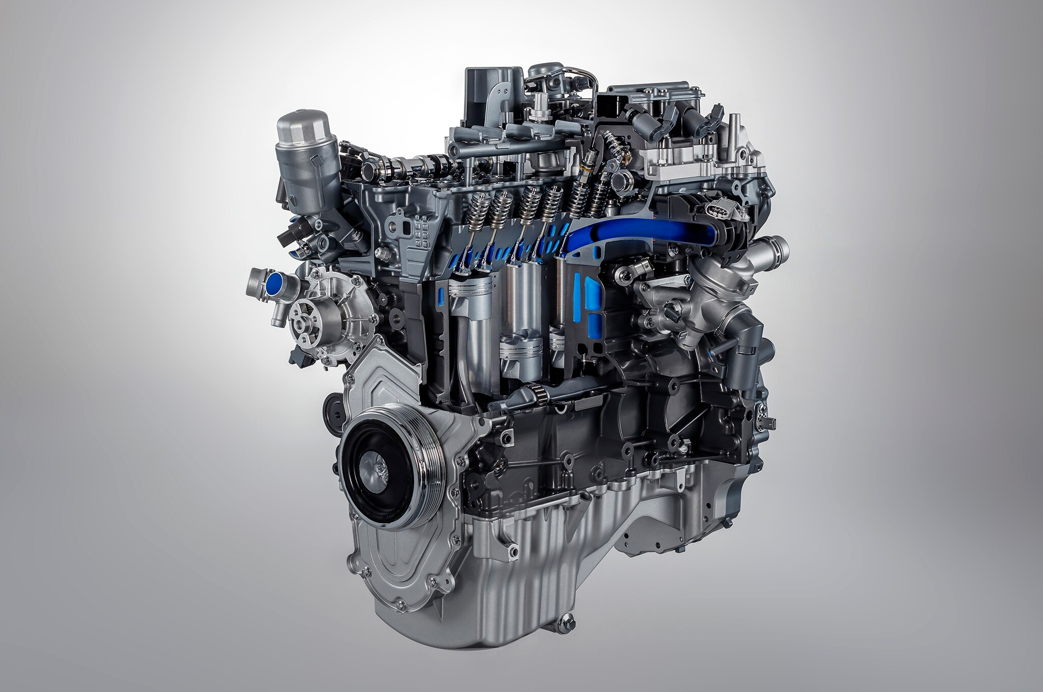 2018 Jaguar F Type four cylinder engine
