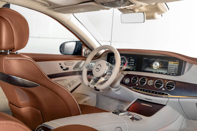 2018 Mercedes AMG S65 interior overview 01