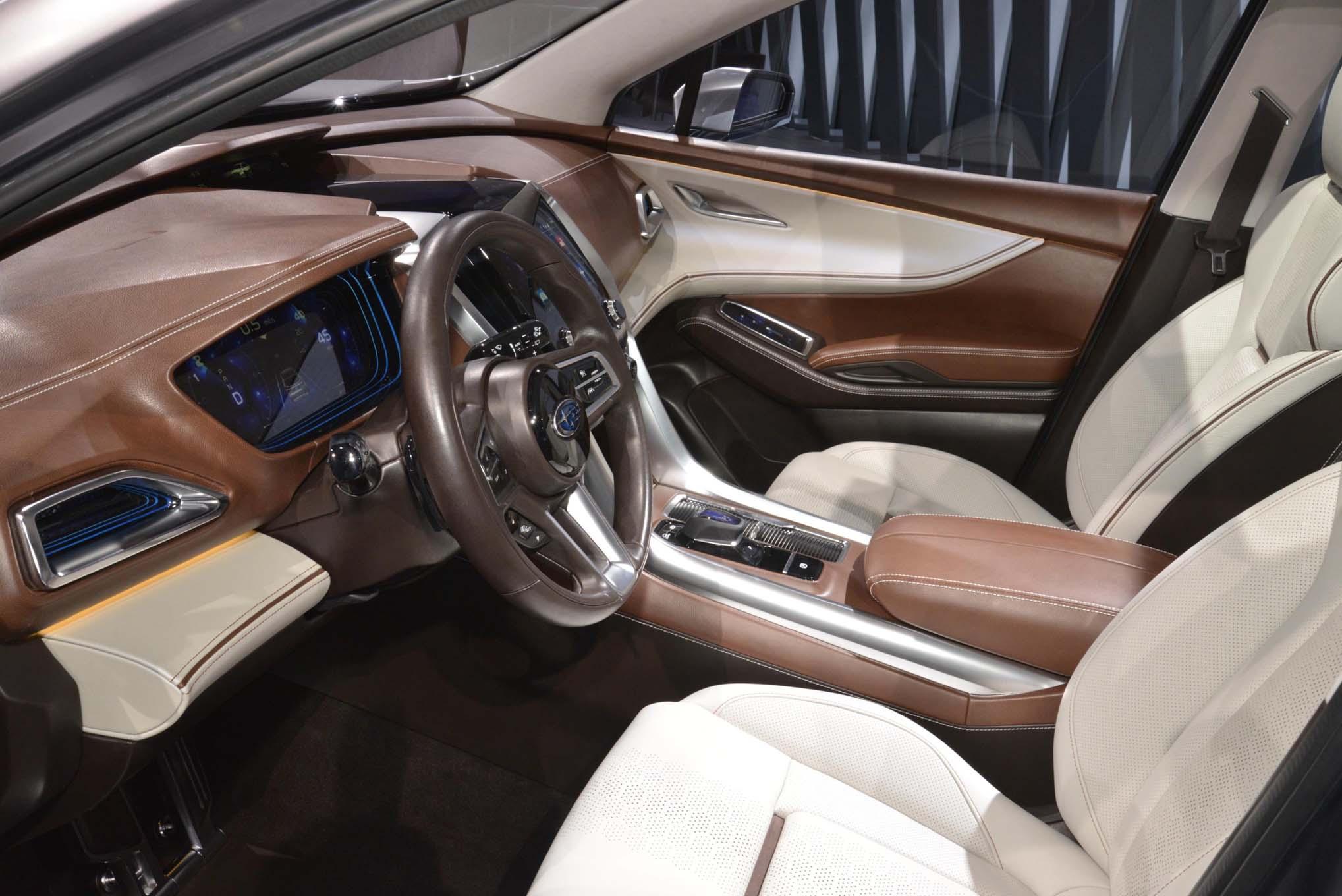 Subaru Legacy 3.6 R >> Subaru Ascent SUV Concept Aims to Help Spread the Love ...