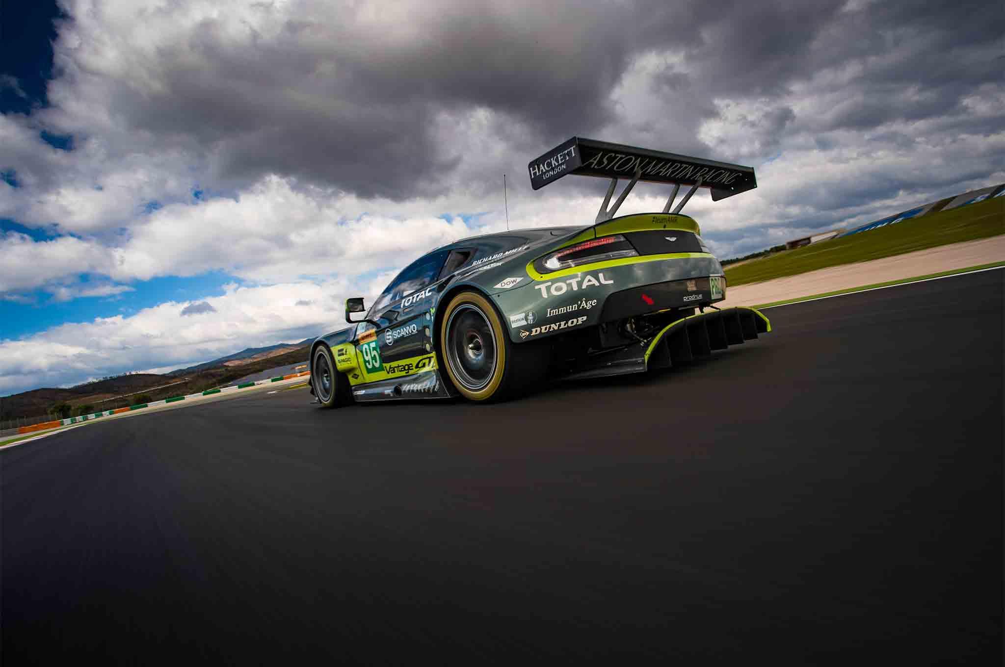 First Laps: Aston Martin Racing V8 Vantage GTE | Automobile Magazine