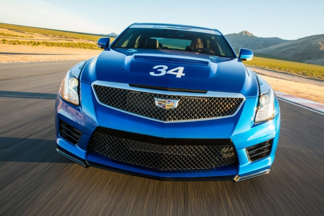 Cadillac V Performance Academy 34 Grille