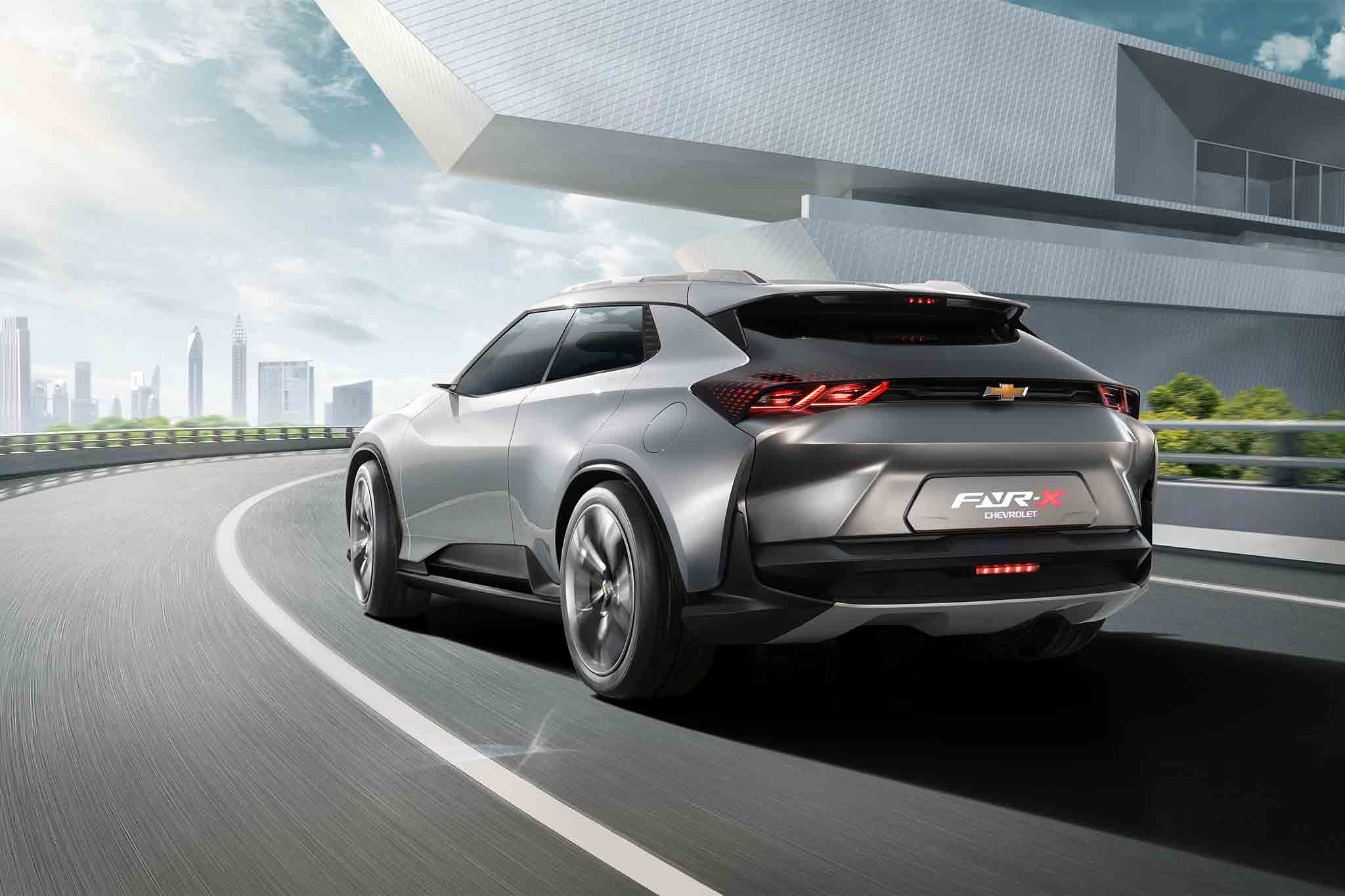 Chevrolet FNR-X Concept is an All-Purpose Plug-in Hybrid ...