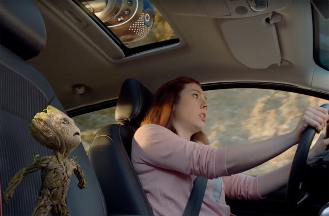 Ford EcoSport Baby Groot Commercial