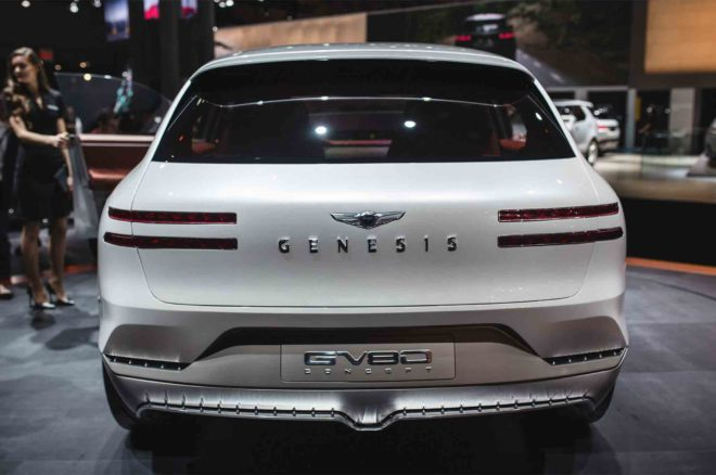 Genesis GV80 Concept rear view