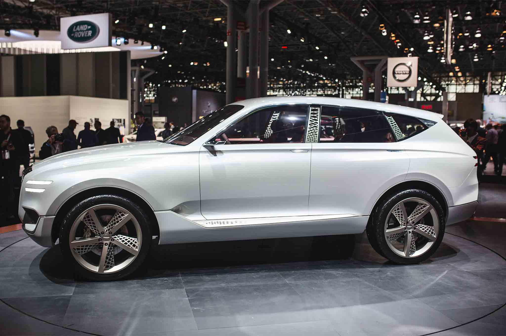 Genesis Gv80 Concept Previews Premium Powered Crossover