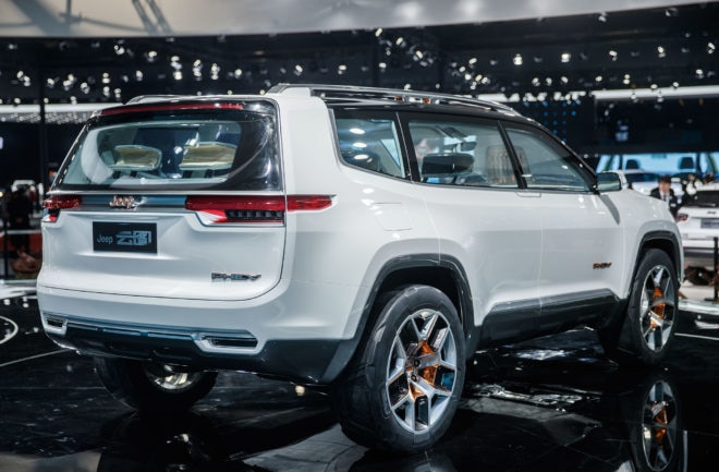 Jeep Yuntu Concept Rear