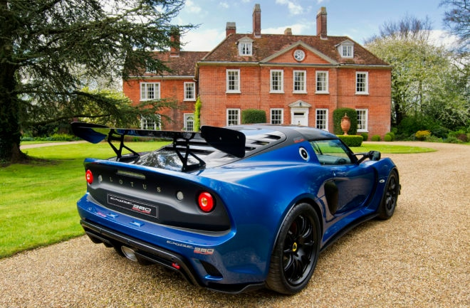 Lotus Exige Cup 380 rear 3qtrs 2