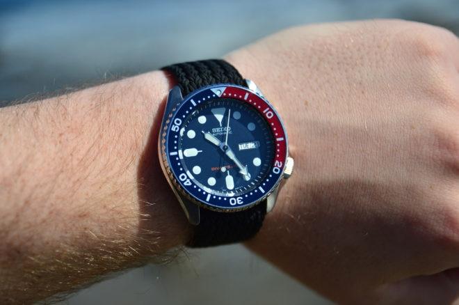 Seiko SKX009 Wrist