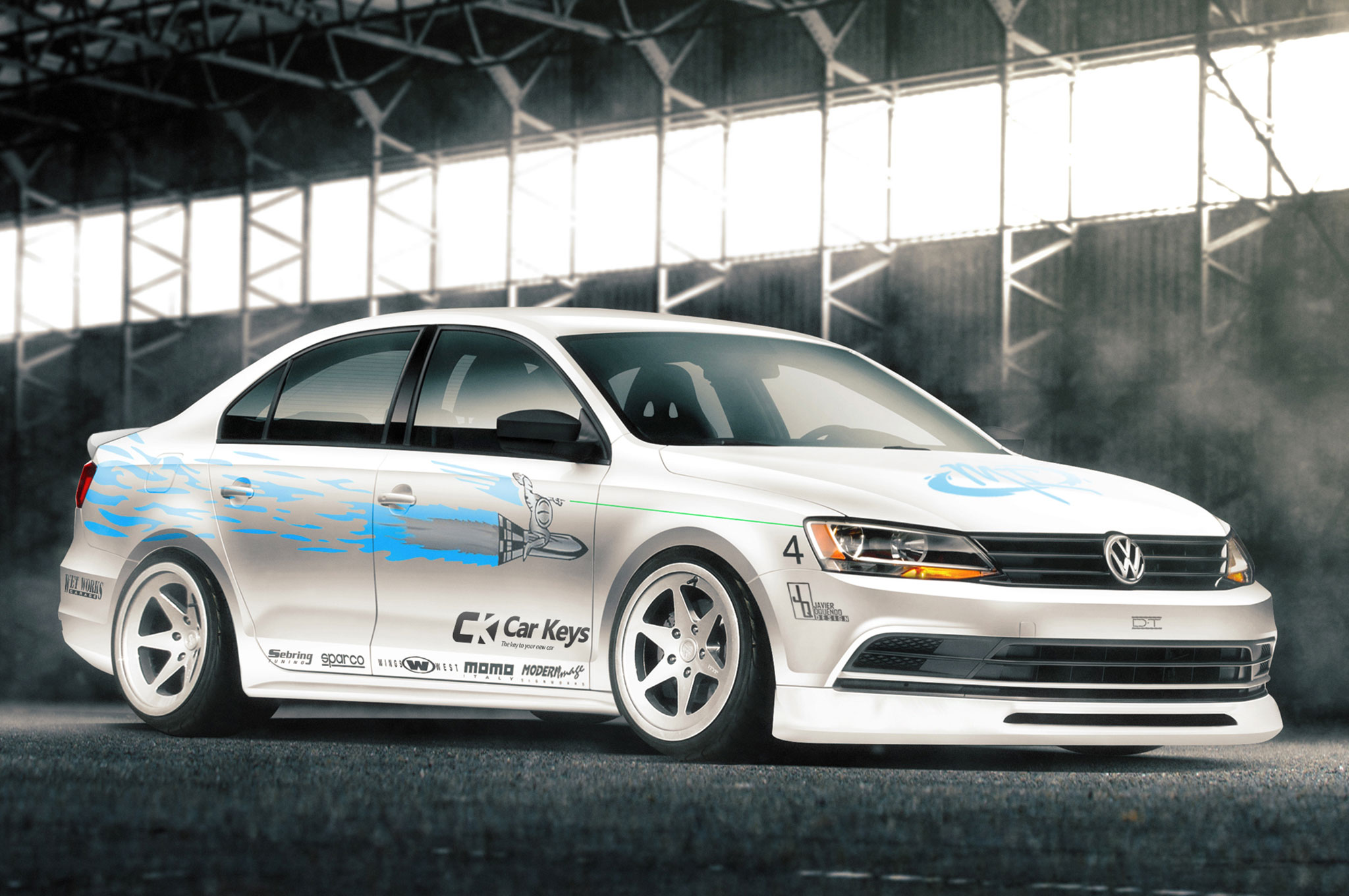 The Fast and the Furious modern renders Volkswagen Jetta