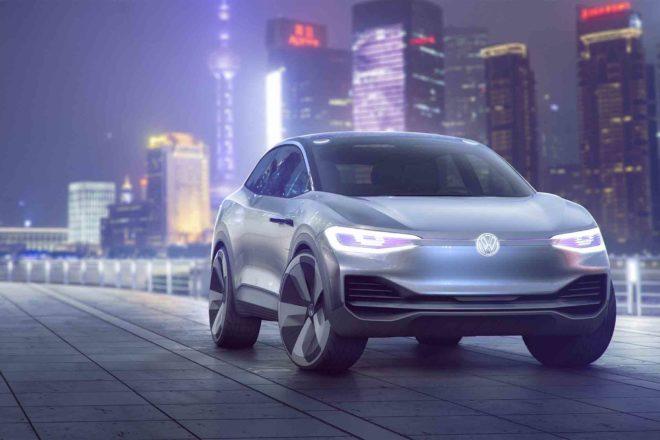 Volkswagen ID Crozz Concept front three quarter 02