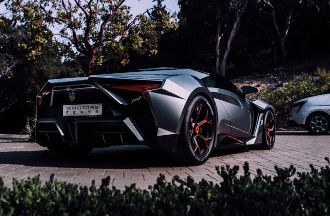 W Motors Fenyr SuperSport Rear Three Quarter