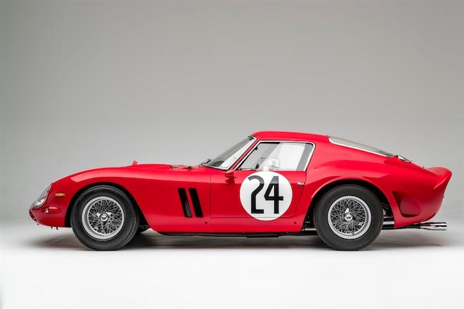 1963 Ferrari 250 GTO Side Profile