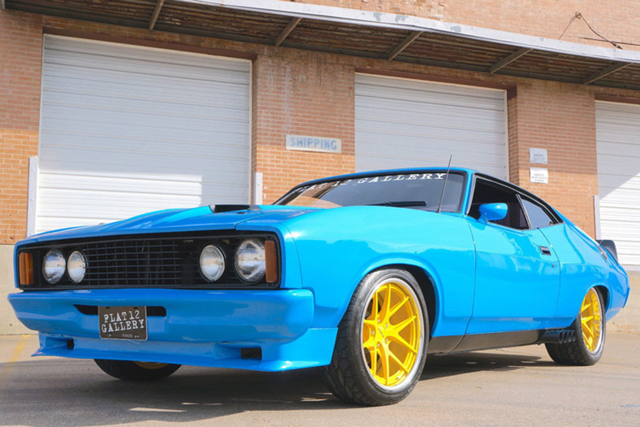 Aussie in the States: Pro-Touring 1976 Ford Falcon XB Goes ...