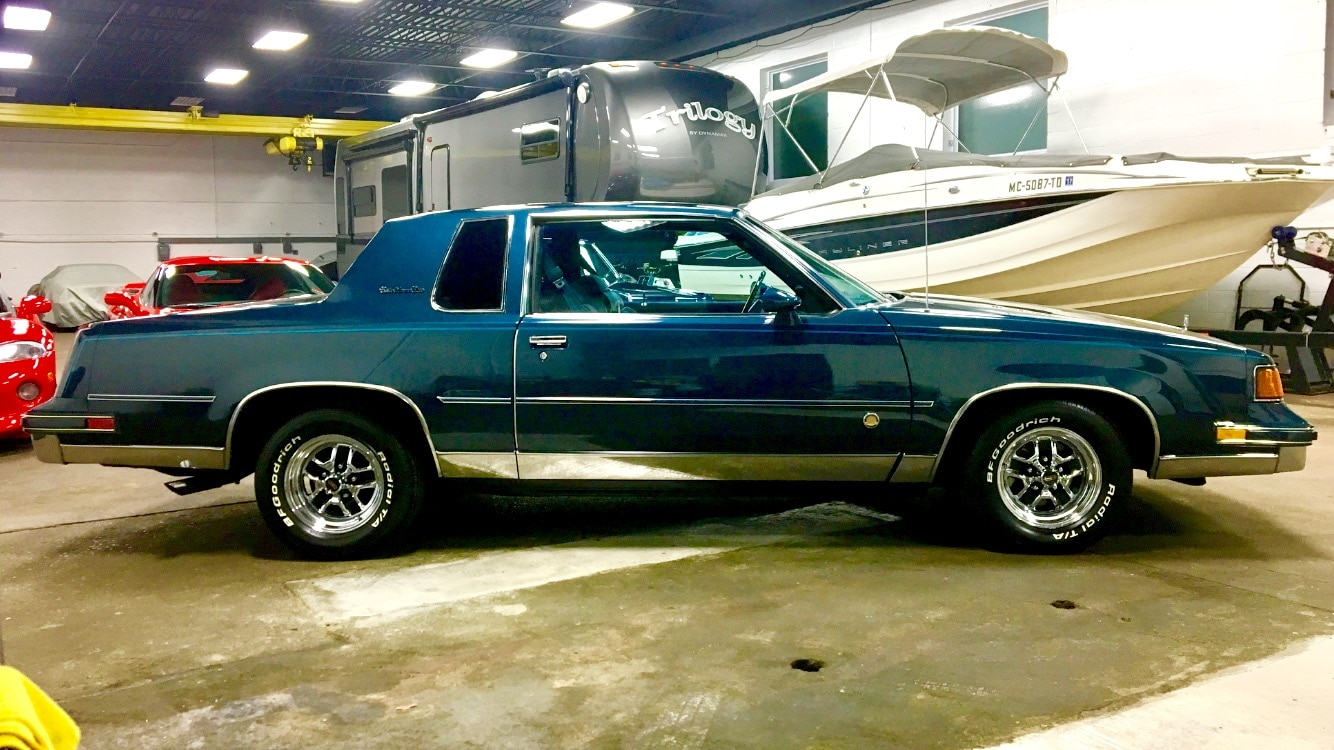 just listed 1988 oldsmobile cutlass supreme brougham automobile