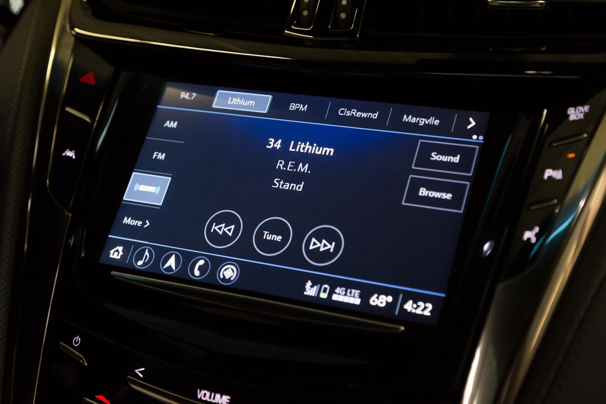 Cadillac Gives CUE a Quiet Overhaul   Automobile Magazine