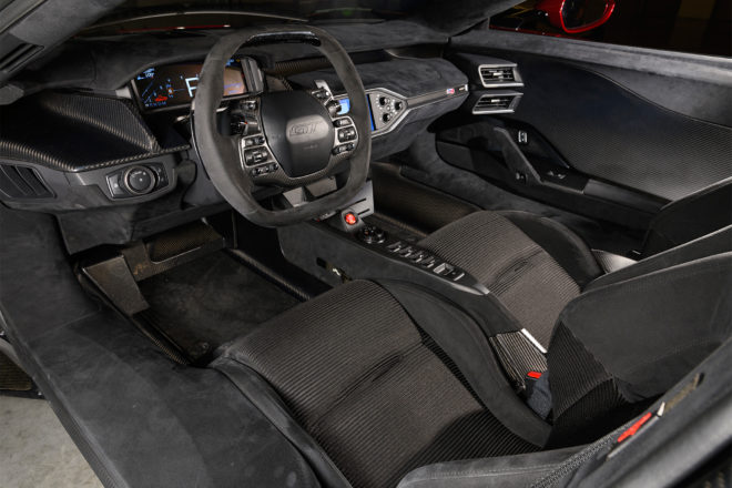 Ford Gt Interior Overview