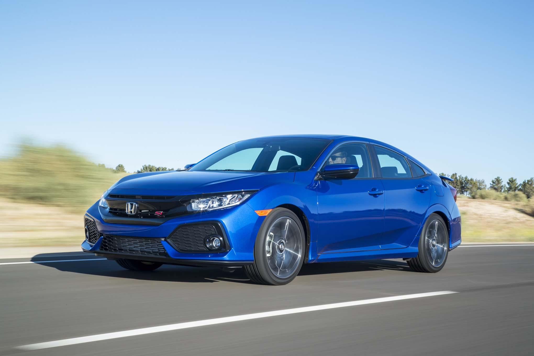honda civic   drive review automobile magazine
