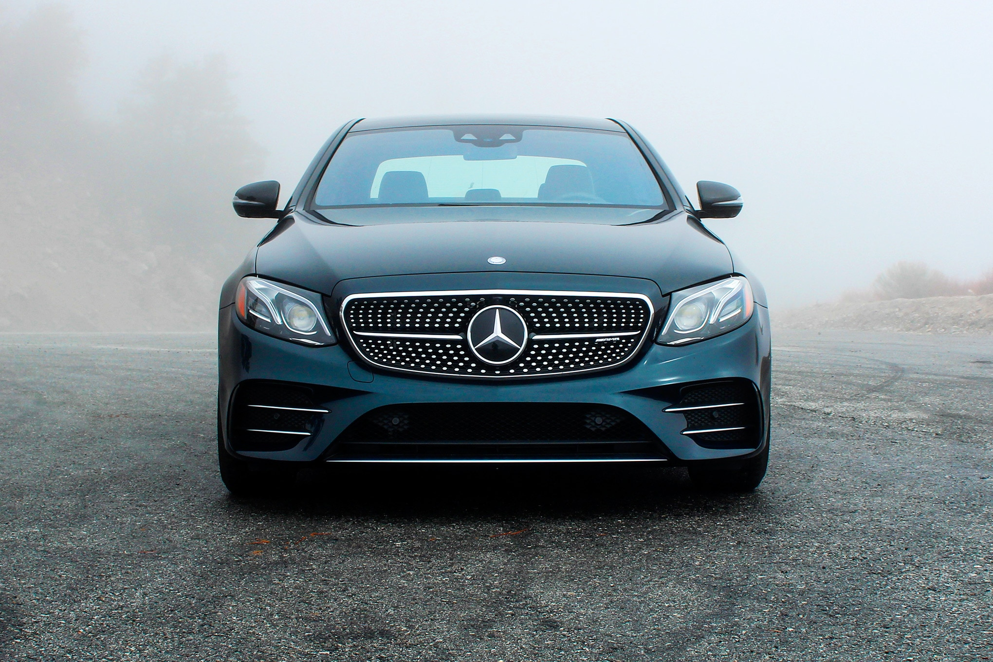 2017 Mercedes AMG E43 Front View