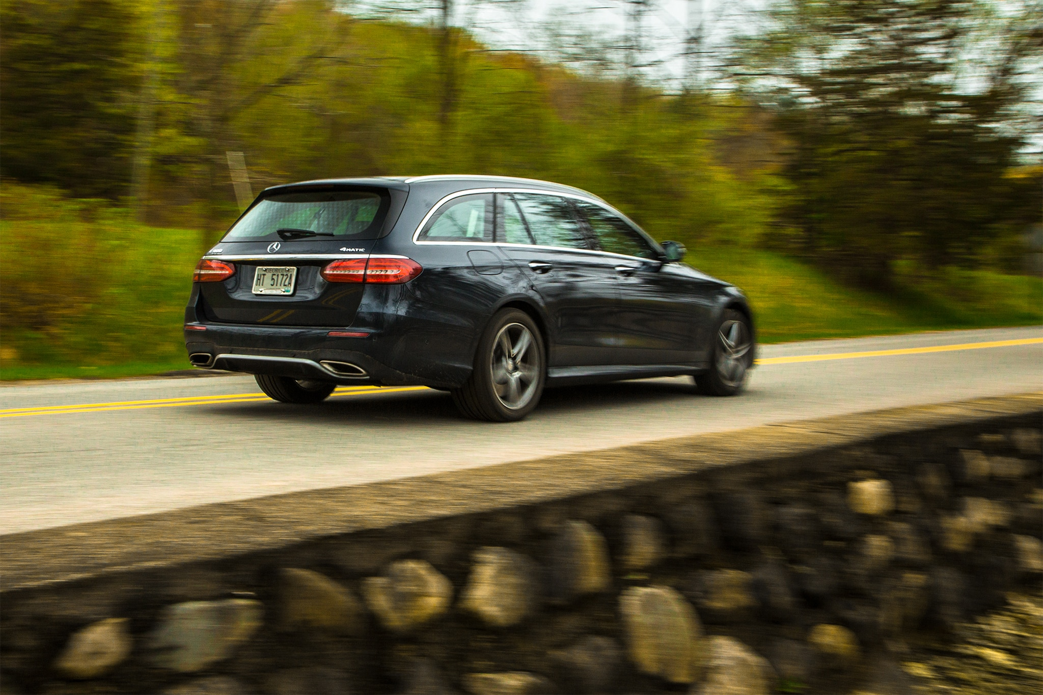 2017 Mercedes Ben E400 4matic Wagon One Week Review Automobile